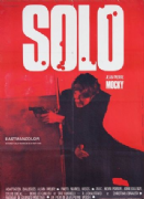 Vintage French movie poster - Solo 1969